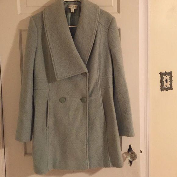 Edina Ronay London winter coat Sale! Super warm, light aqua blue coat by Edina Ronay London. Worn twice- us size 10. Wool will keep you beyond warm! Feel free to make an offer. Edina Ronay London Jackets & Coats Pea Coats