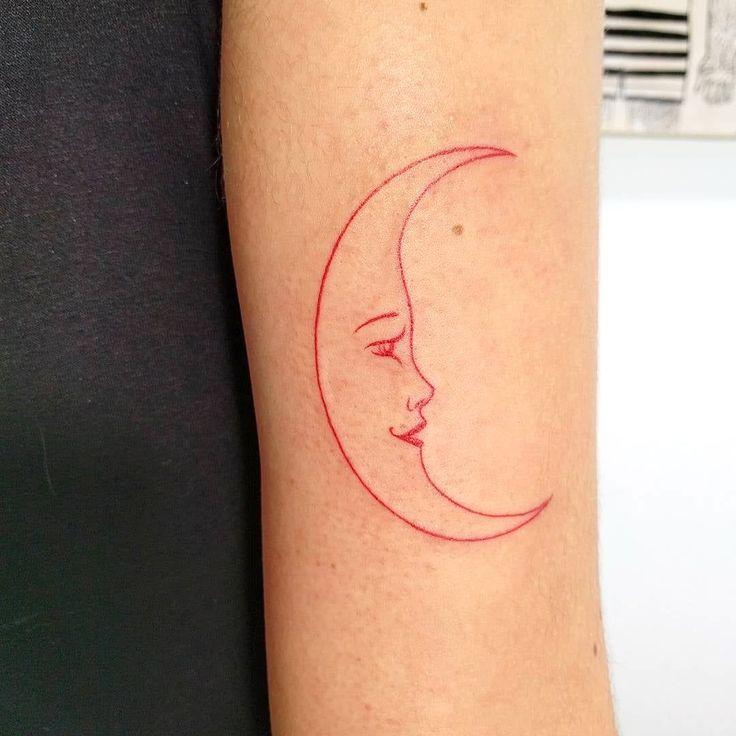 8 Minimalist Tattoo Ideas in 2020 | Red ink tattoos, Red tattoos, Ink tattoo