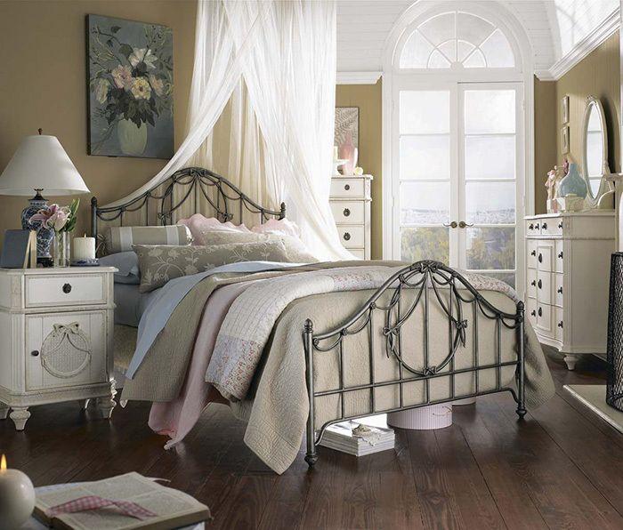 Фотографии дизайна спальни в стиле кантри
