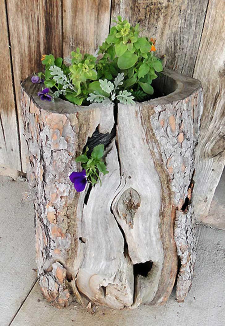 mejores 28 imágenes de artesania en troncos en pinterest | madera