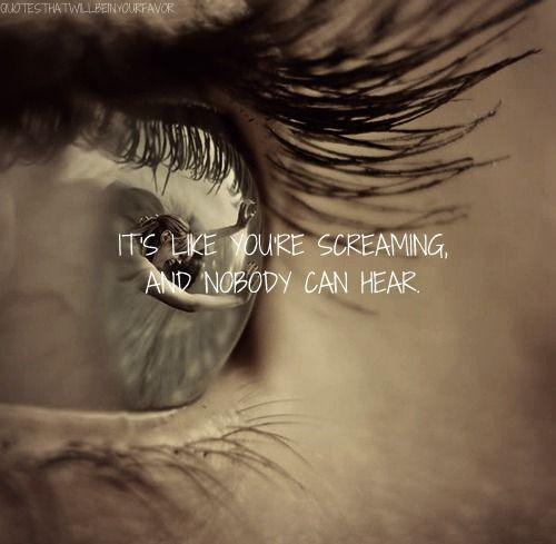 heartbreak quotes tumblr | ... quotes lyric quotes lyrics screaming alone depression heartbreak