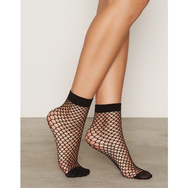 2-Pack Fishnet Socks (€14) ❤ liked on Polyvore featuring intimates, hosiery, socks, fishnet lingerie, fishnet socks and fishnet hosiery