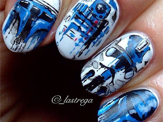 Star Wars Nail Art - NAILS Magazine