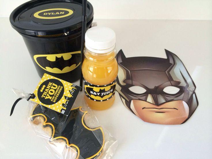 Batman Party decor