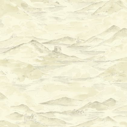 Highland Wallpaper - Cream