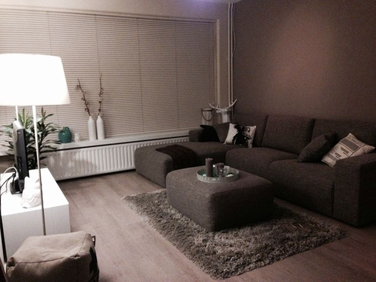 25 beste idee n over bruine meubels decor op pinterest bruin slaapkamermeubilair - Kleur warme kleur cool ...