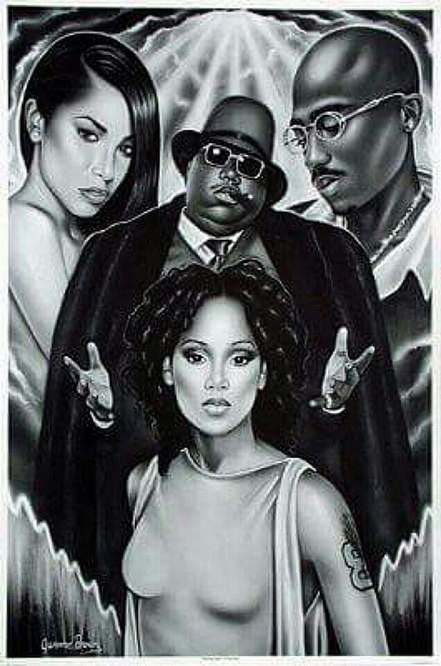 Aaliyah, Biggie, 2Pac & Lisa Lopez