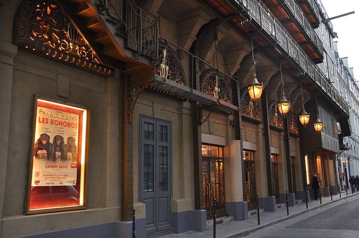 Théâtre du Palais-Royal Paris 1er 005 - Théâtre du Palais-Royal — Wikipédia