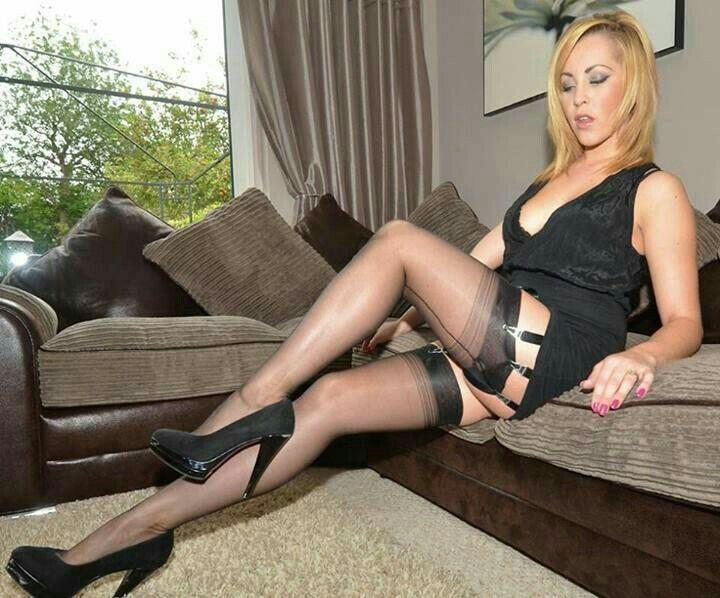 Black stocking milf video