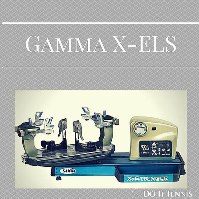 Gamma X-ELS Tennis Stringing Machine Review
