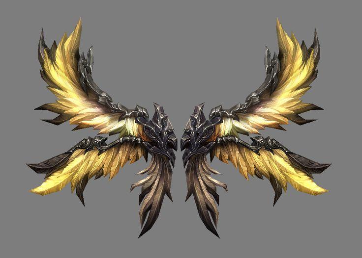 Wings, mina kim on ArtStation at https://www.artstation.com/artwork/nWRQo