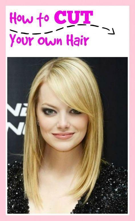 Marvelous 17 Best Ideas About Cut Own Hair On Pinterest Cut Your Own Hair Short Hairstyles Gunalazisus
