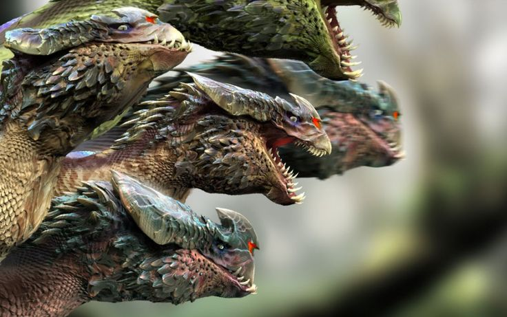 101 best images about Hydra on Pinterest   Fantasy ...