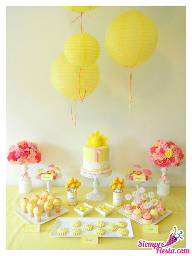 hermosas ideas para una fiesta de color amarillo ideal para adultos y nios ms grandes