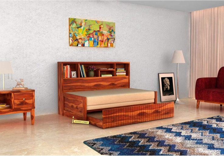 Get Best Deals on Savannah Sofa Cum Bed With Storage (Honey Finish) at Wooden Street. Buy computer table Online with ✓Elegant Designs #Bangalore #Chennai #Coimbatore #Delhi #Faridabad #Ghaziabad #Goa #Gurgaon #Hyderabad #Jaipur #Kochi #Mumbai #Noida #Pune #Vishakhapatnam