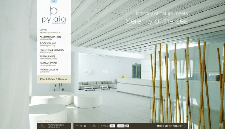 Pylaia Boutique Hotel website released at www.pylaiahotel.com