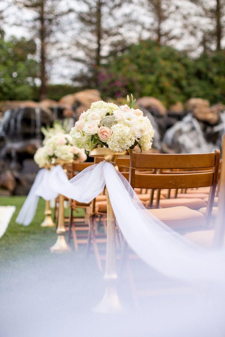 Garden Lawn | #Wedding #Venue | #FourSeasons #WestlakeVillage | Maggie U0026  Robert | Weddings By FSWestlake | Pinterest | Gardens, Seasons And Wood  Chairs