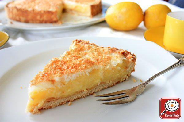 Ricetta Crostata al limone e cocco