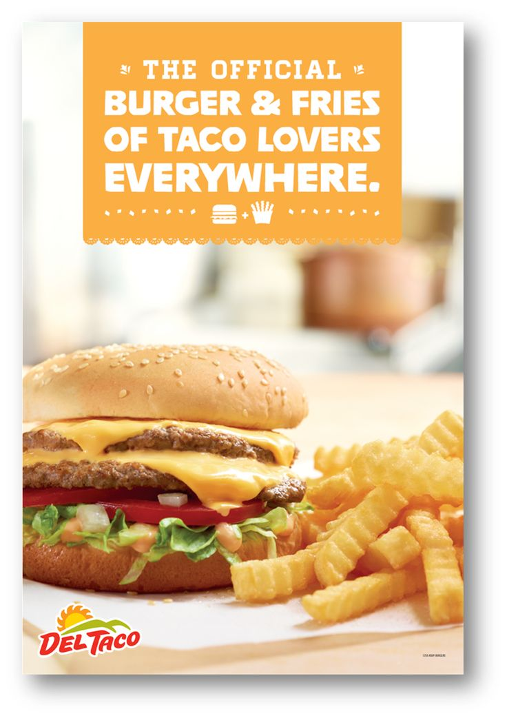 Yes, Del Taco's burgers & fries ARE fan favorites.  #DoubleDel #CrinkleCutFries #InTheKnow