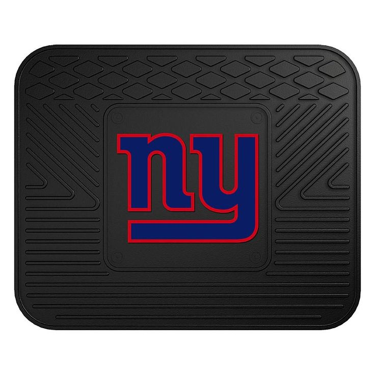 "Officially Licensed NFL Team Logo 14"" x 17"" Mat by Sports Licensing Solutions - Cowboys - Giants"