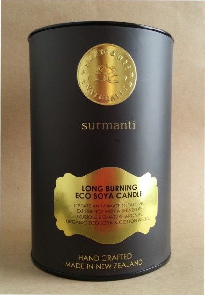 Surmanti Eco Soya candle – Lime & Coconut Review