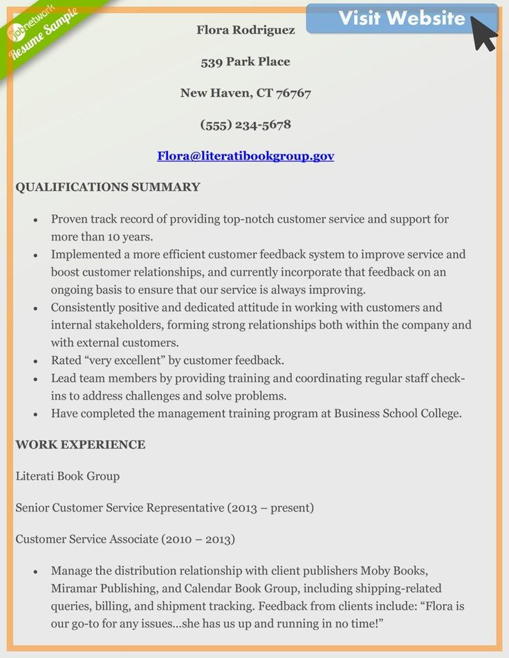 customer service associate resume examples in 2020