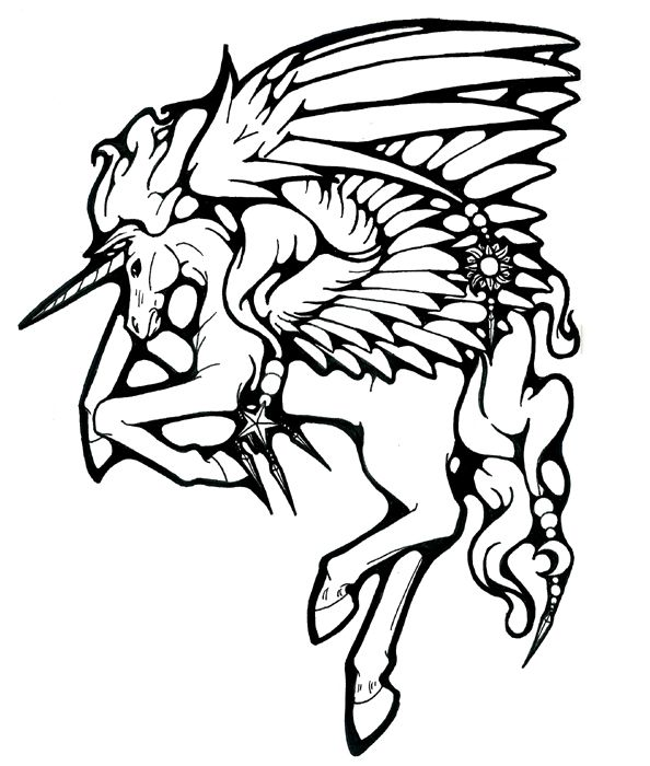 97 best images about Pegasus to Color on Pinterest