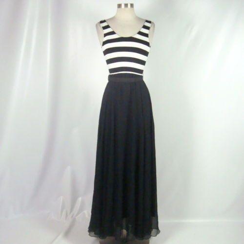 Kylie Jenner Alice Olivia Sleeveless Belted Black White Dress Size 0   eBay