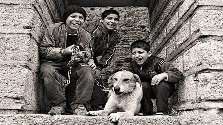 Anadolu'da çocuk olmak...  Fotoğraf: Necmettin Çıplak