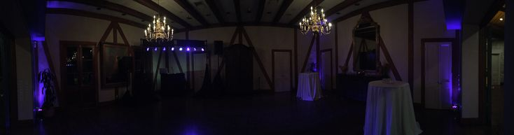 Club Giraud - Pkg. 3 Sound, Stage and up-lighting with satellite speakers in the front room and outside patio