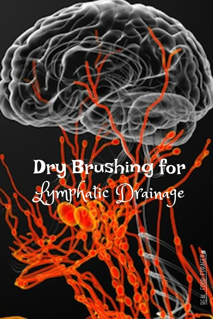 Dry Brushing for Lymphatic Drainage, Dry brushing makes your skin soft and may help with lymphatic drainage!