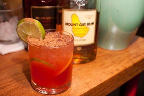 Barbados Rum Punch Cocktail | Cocktails and soft beverages | Pinterest