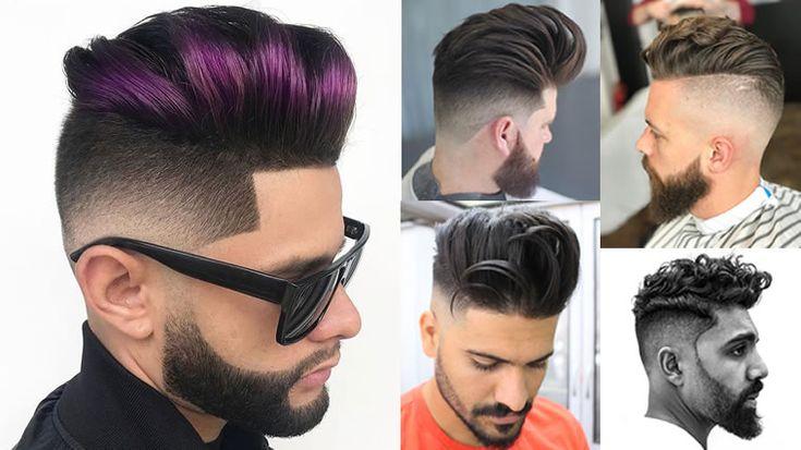 Pompadour Frisuren und Haarschnitte für 2018 – Viral Pomp Hair Ideas 2019   – Coiffures 2019