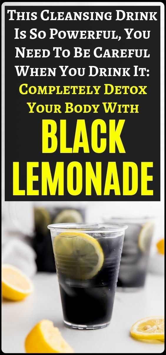 This drink is very powerful for full body dettoxx. It is knows an the black lemo…