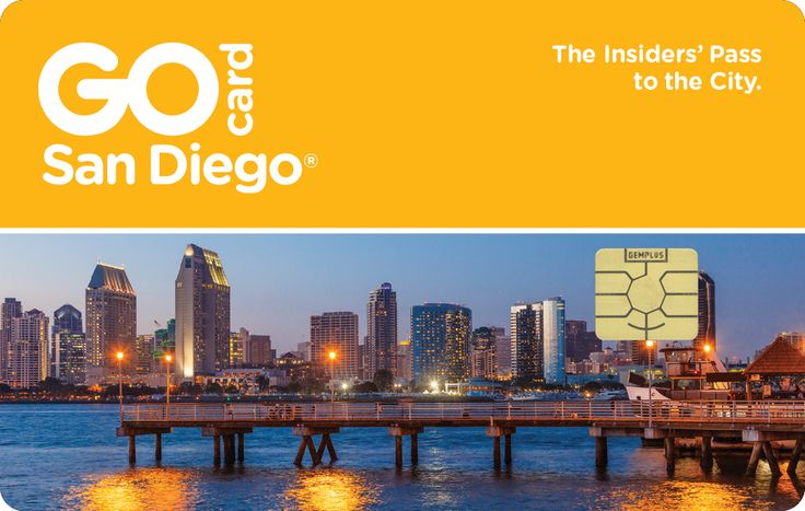 The Go San Diego Card is an all-inclusive attraction pass that gives you free admission to all 46 San Diego attractions for one low price.