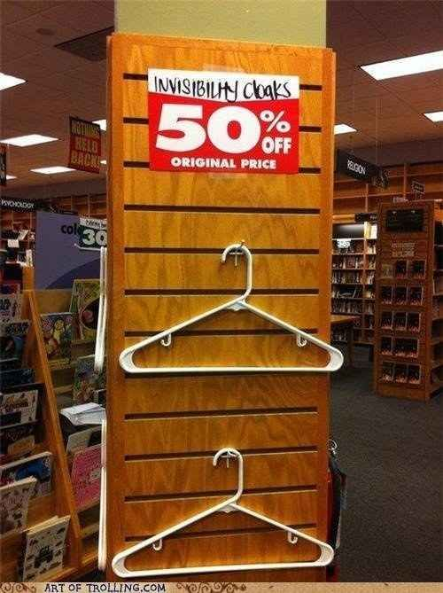 This steal of a sale. | 33 Harry Potter Jokes Even Muggles Will Appreciate