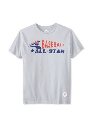 58% OFF 7th Inning Stretch Men's All Star T-Shirt (Vintage Grey)
