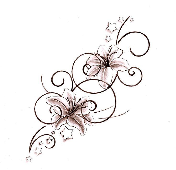 Что означает тату лилия