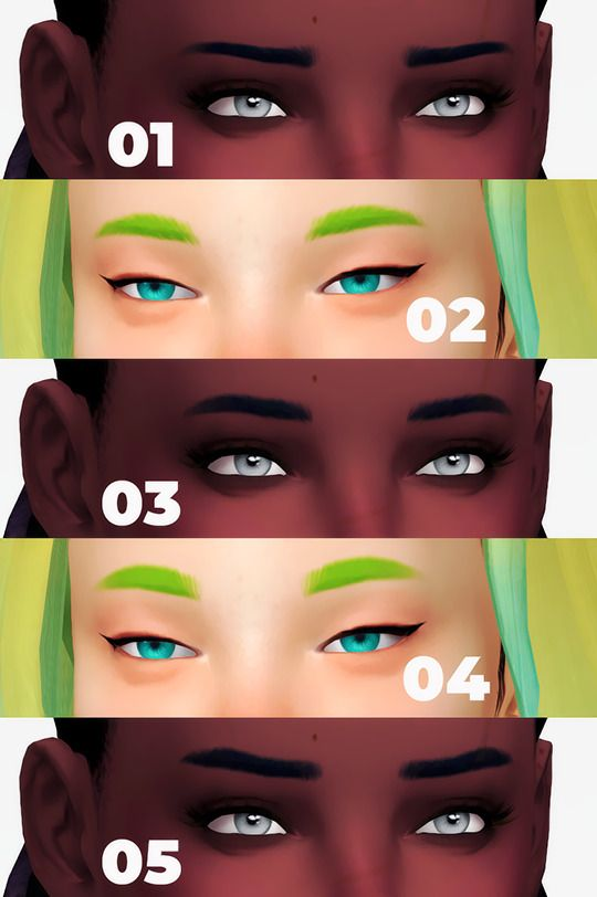 Hair Pins L and R sets at Imadako » Sims 4 Updates