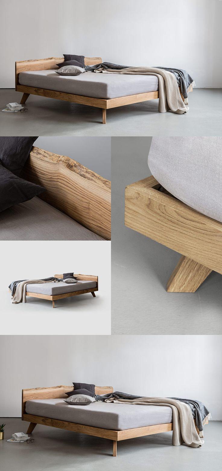 Oak Bed by NUTSNDWOODS