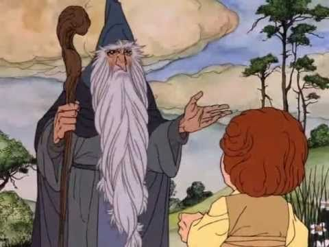 The Hobbit: An Unexpected Journey, Trailer 1 (1977 Animated Version)