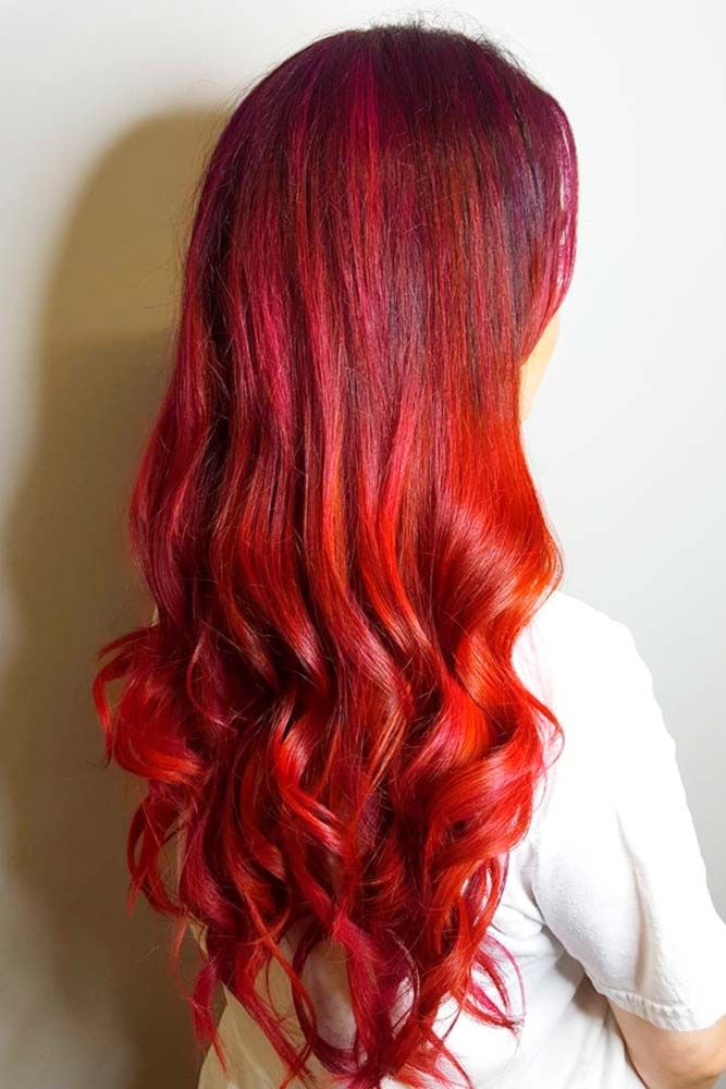 Best 25+ Ruby red hair color ideas on Pinterest | Ruby red ...