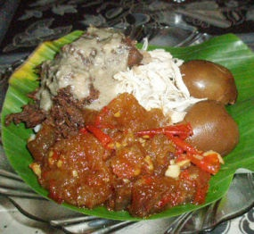 nasi rames ayam ~ Semarang, Indonesia