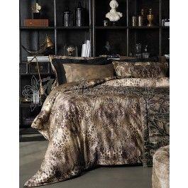 Valeron Saverio - lenjerie de pat de lux din bumbac satinat imprimat digital
