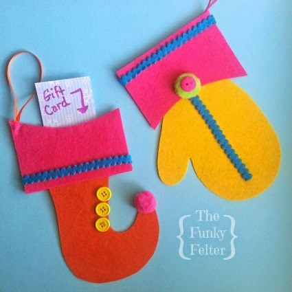 242 best images about quick easy handmade ornaments on for Easy christmas felt crafts