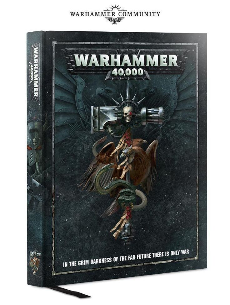 Other 40K Items 31399: Warhammer 40K ** 8Th Edition Rulebook ** Dark Imperium 40K 40,000 40.000 Aos -> BUY IT NOW ONLY: $34.75 on eBay!