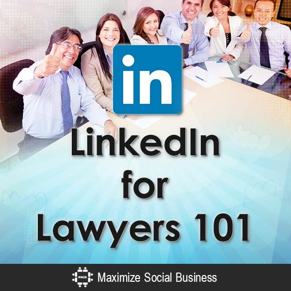Introduction of LinkedIn for lawyers and why they should use the social networking platform for professionals.