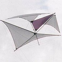Marconi by Ronald Krueger, a plan for 1 line kite hosted at the bowed category of the KPB