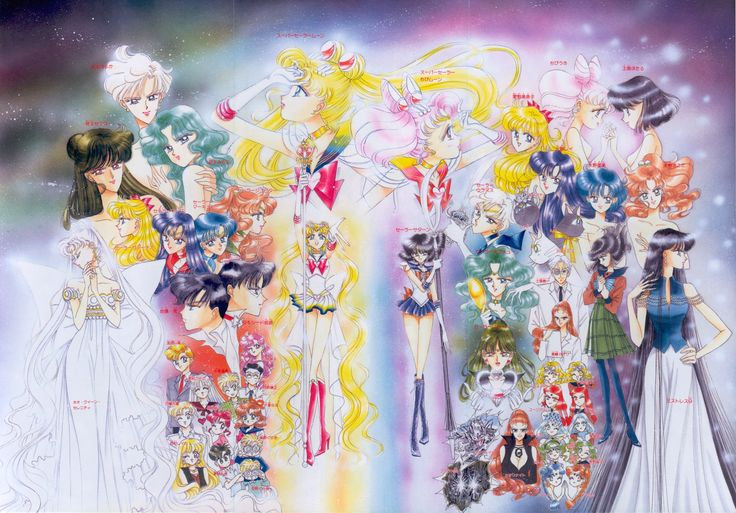 epic sailor moon group picture!!!