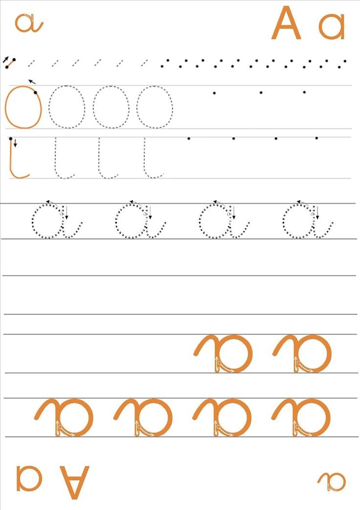 La classe de Laurène: fiches écriture des lettres en cursive